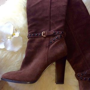 COACH Suede Boots ❤️